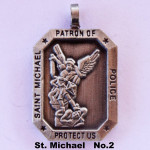 SAINT MICHAEL PATRON OF POLICE PROTECT US