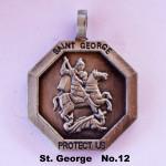 SAINT GEORGE PROTECT US