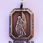 SAINT MAURICE PATRON OF INFANTRY PROTECT US