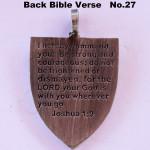 BIBLE VERSE BACK DESIGN