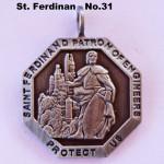 SAINT FERDINAND PATRON OF ENGINEERS PROTECT US