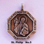 SAINT PHILIP PATRON OF SPECIAL FORCES PRAY FOR US