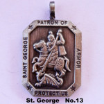 SAINT GEORGE PATRON OF ARMOR PROTECT US