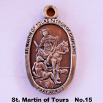 ST. MARTIN OF TOURS PATRON OF CHAPLAINS PRAY FOR US