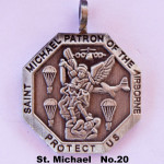 SAINT MICHAEL PATRON OF THE AIRBORNE PROTECT US