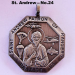 SAINT ANDREW PATRON OF RANGERS PROTECT US