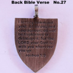BIBLE VERSE BACK DESIGN