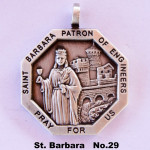 SAINT BARBARA PATRON OF ENGINEERS PRAY FOR US