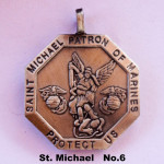 SAINT MICHAEL PATRON OF MARINES PROTECT US