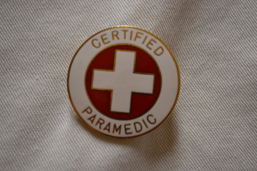 1933CP- CERTIFIED PARAMEDIC