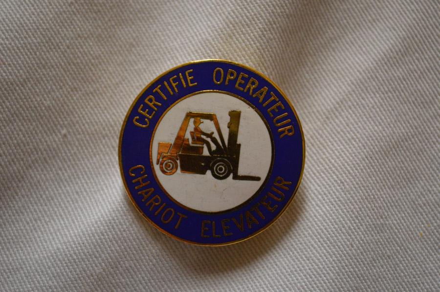 1933FCFLO- CERTIFIE OPERATEUR CHARIOT ELEVATEUR