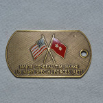 DOG TAG STYLE MILITARY COIN HAAKE