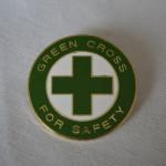 1933G GREEN CROSS FOR SAFETY